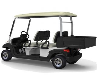 BSN4C Golf cart with container
